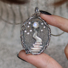 The Master and Margarita pendant
