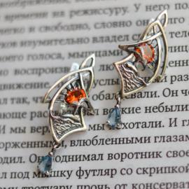 The Mystirous Island earrings