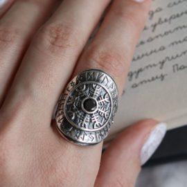 Viking Futhark ring